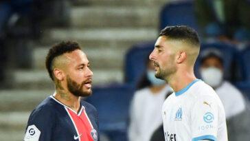 """Álvaro González aurait bien traité Neymar de """"singe"""". Icon Sport"""
