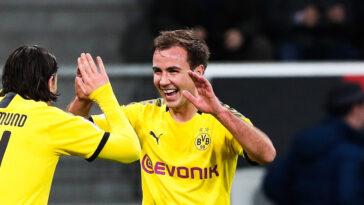 Mario Götze, le milieu offensif du Borussia Dortmund, fait partie de ces joueurs libres qui intéresseront de nombreux clubs au mercato. Icon Sport