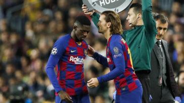 Ousmane Dembélé et Antoine Griezmann vont-ils perpétuer la malédiction des Français au Barça ? Icon Sport