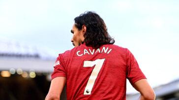Edinson Cavani va récupérer un numéro très spécial à Manchester United... Icon Sport