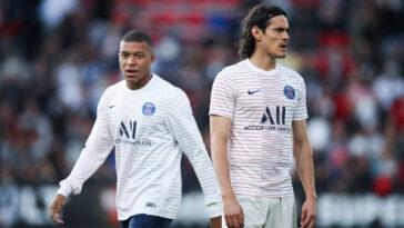 Kylian Mbappé et Edinson Cavani ne se sont jamais entendus comme larrons en foire au PSG. Icon Sport