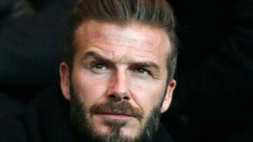 David Beckham : ce joueur français avec qui il aurait voulu jouer. Icon Sport
