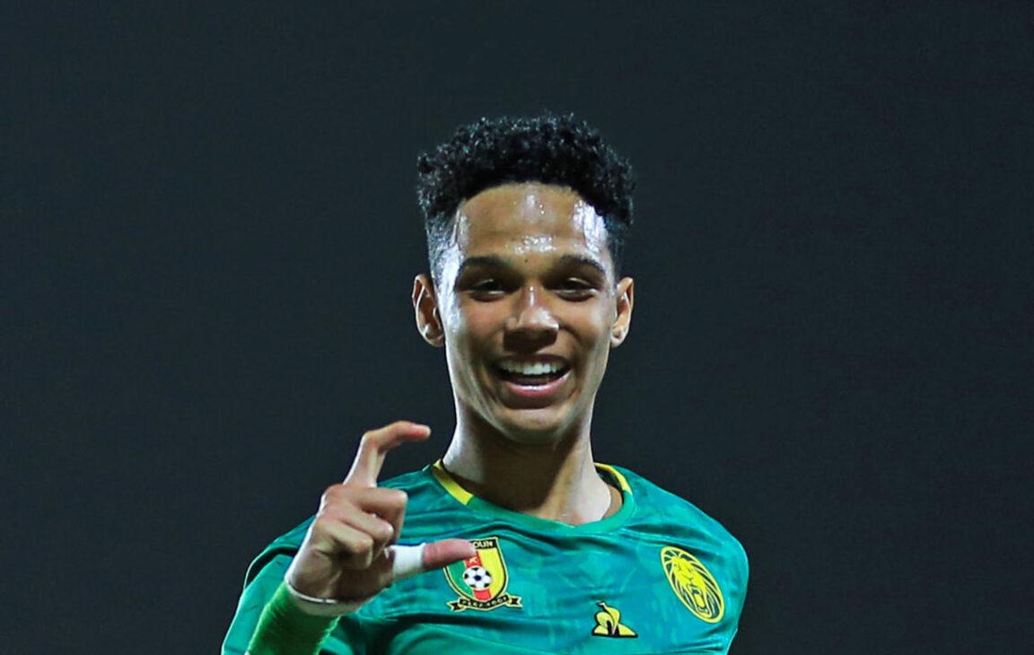 Etienne Eto'o Pineda, le fils de Samuel Eto'o, s'est mis en avant avec les U20 du Cameroun. Photo Icon Sport
