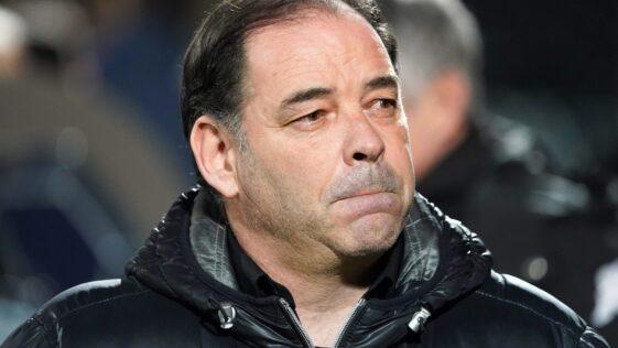 Stéphane Moulin : l'entraîneur d'Angers fait mieux que Zidane et Guardiola / Icon Sport