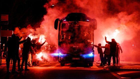 Les supporters de l'OM sont en colère contre le président du club Jacques-Henri Eyraud. Photo Icon Sport.