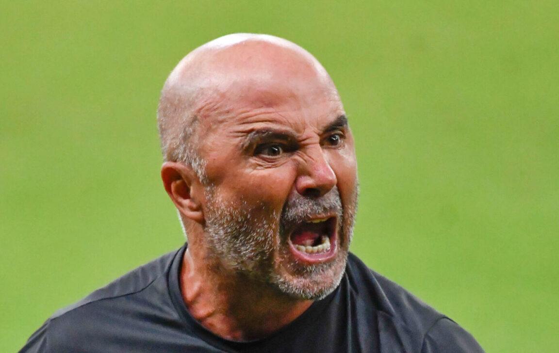 Le bouillant Jorge Sampaoli est pressenti pour devenir le nouvel entraîneur de l'Olympique de Marseille. Photo Icon Sport