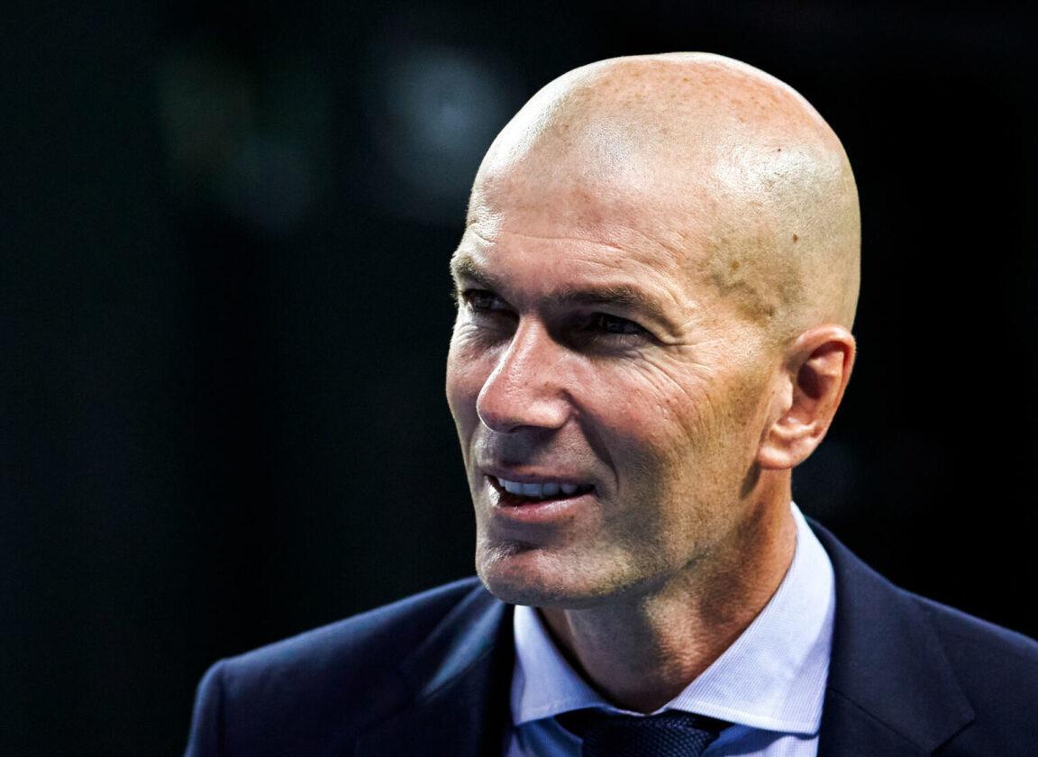 Zinédine Zidane, bientôt un avenir à la tête de l'équipe de France ? Photo Icon Sport