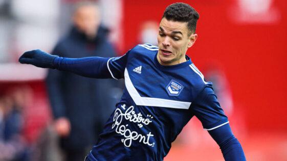 Hatem Ben Arfa avec Bordeaux, le 7 février, contre Brest. Photo Icon Sport