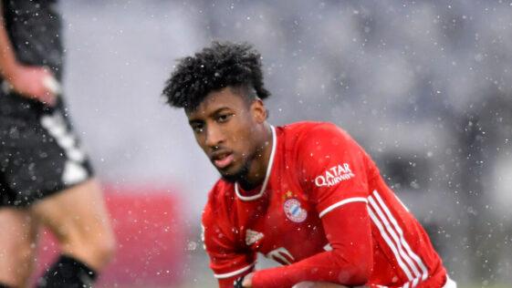 Kingsley Coman est à l'image du Bayern : sur les rotules. Photo Icon Sport
