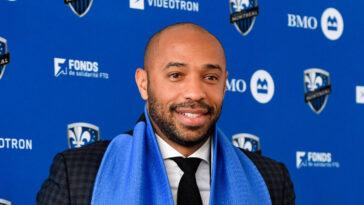 Thierry Henry, actuellement en poste au CF Montréal MLS), pourrait devenir le nouvel entraîneur de Bournemouth, en D2 anglaise. Photo Icon Sport