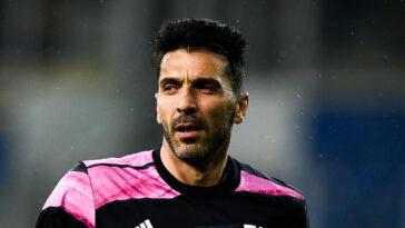 Gianluigi Buffon a blasphémé, et a donc été condamné. Photo Icon Sport