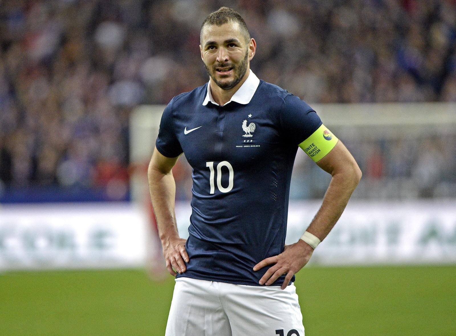 Karim Benzema n'avait plus porté le maillot des Bleus depuis cinq ans. Une éternité... Icon Sport