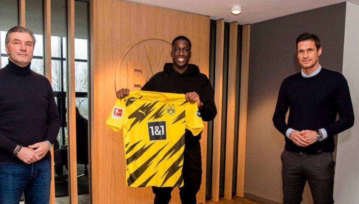 Soumaila Coulibaly, grand espoir du PSG, a signé au Borussia Dortmund. Icon Sport