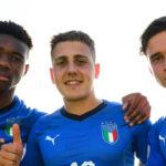 Alessandro Arlotti (au centre) est international U18 italien. Icon Sport