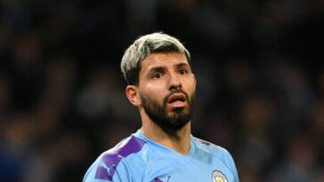 Sergio Agüero est dans une mauvaise passe à Manchester City. Icon Sport