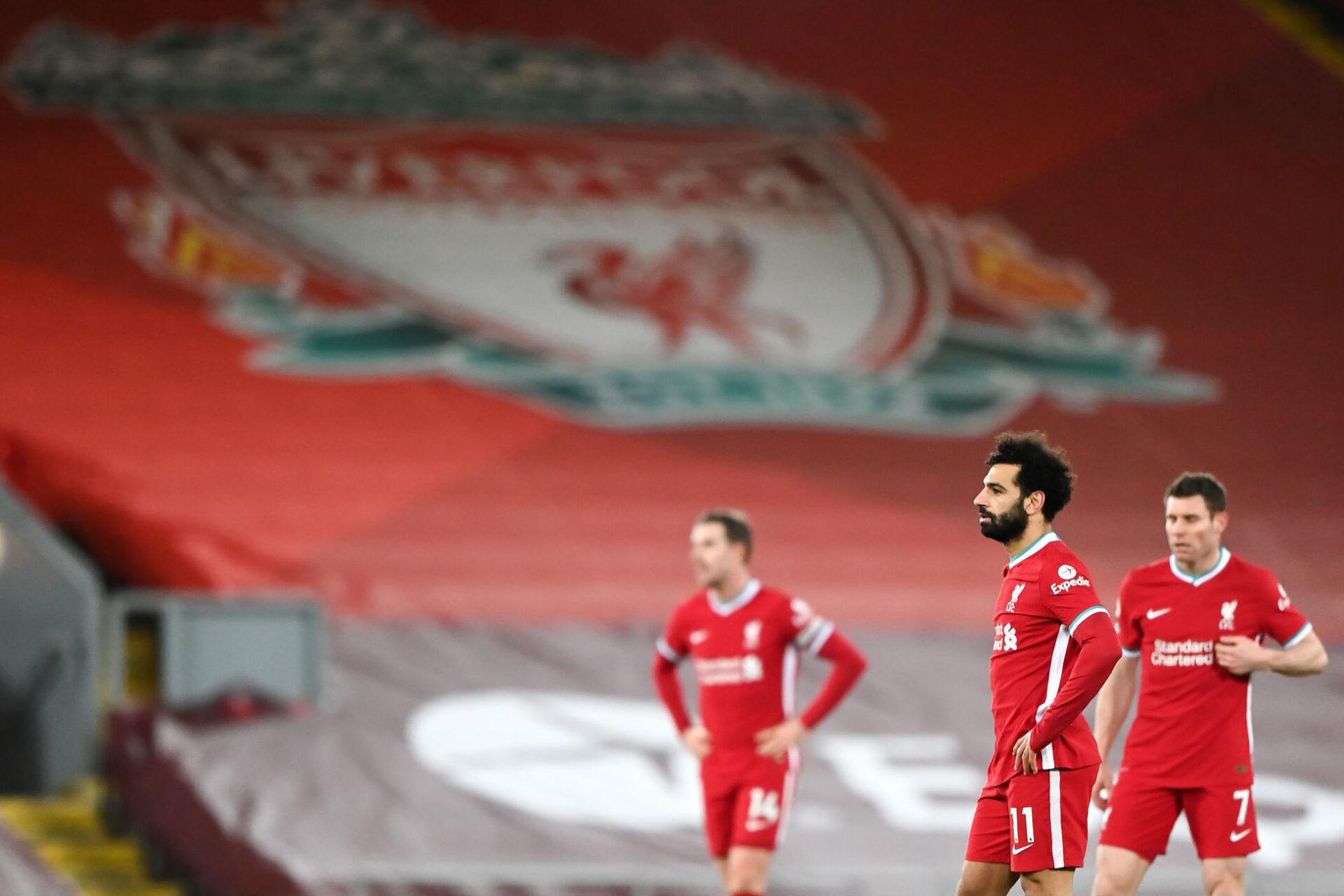 Mohamed Salah et Liverpool au fond du trou. Icon Sport