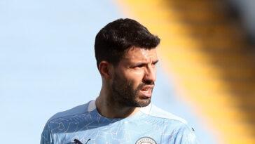 Sergio Agüero aurait trouvé un acord pour rejoindre le Barça cet été. Icon Sport