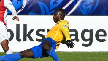 En 2019, le Canet-en-Roussillon - en jaune - avait défié Monaco en 32e de finale de Coupe de France, pour une petite défaite 1-0. Photo Icon Sport