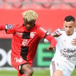 Le Gabonais Didier Ndong (Dijon) et l'Algérien Mehdi Zerkane (Bordeaux) ne devraient pas pouvoir rejoindre leurs sélections. Icon Sport