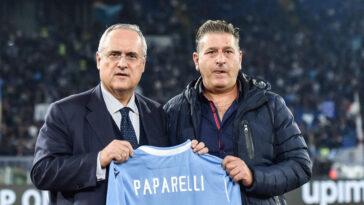 Claudio Lotito, le président de la Lazio, a payé au prix fort ses agissements contraires aux normes sanitaires. Icon Sport