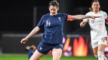 Une joueuse de l'équipe de France. Icon Sport