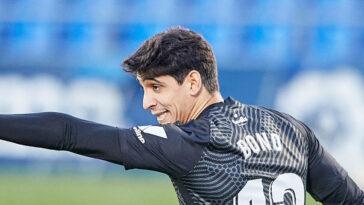 """Yassine Bounou, dit """"Bono"""", a marqué pour le FC Séville contre Valladolid. Icon Sport"""