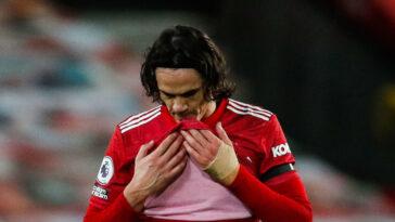 Edinson Cavani et Manchester United, ce sera bientôt du passé pour le média argentin Olé. Icon Sport