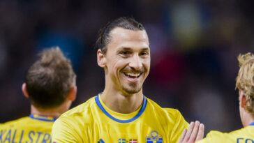 Zlatan Ibrahimović est de retour avec la Suède ! Icon Sport