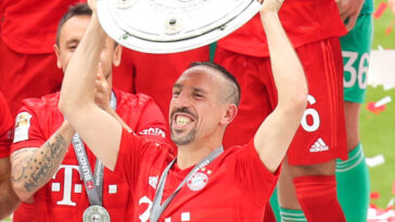 """Franck Ribéry voudrait retourner en Allemagne, là où il est devenu """"Kaiser Franck"""". Icon Sport"""