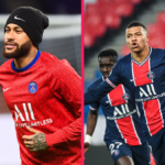 Neymar devance Kylian Mbappé au classement des salaires de la Ligue 1. Icon Sport