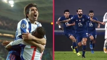 Le FC Porto de Deco en 2004 et le FC Porto de Sérgio Oliveira en 2021 ont renversé un géant européen en 8e de finale retour de la Ligue des champions à 17 ans d'intervalle, jour pour jour. Photos Icon Sport