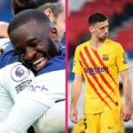 Tanguy Ndombélé, brillant avec Tottenham, et Clément Lenglet, au fond du trou avec le Barça, ont tous les deux été appelés par Didier Deschamps. Icon Sport