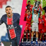 Le PSG de Kylian Mbappé pourrait retrouver dès les quarts de finale de la Ligue des champions le Bayern, son bourreau en finale l'année dernière... Icon Sport