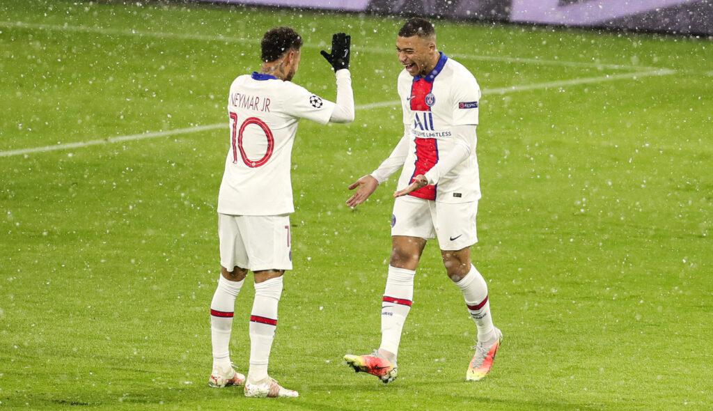 Neymar et Kylian Mbappé ont été décisifs contre le Bayern. Icon Sport