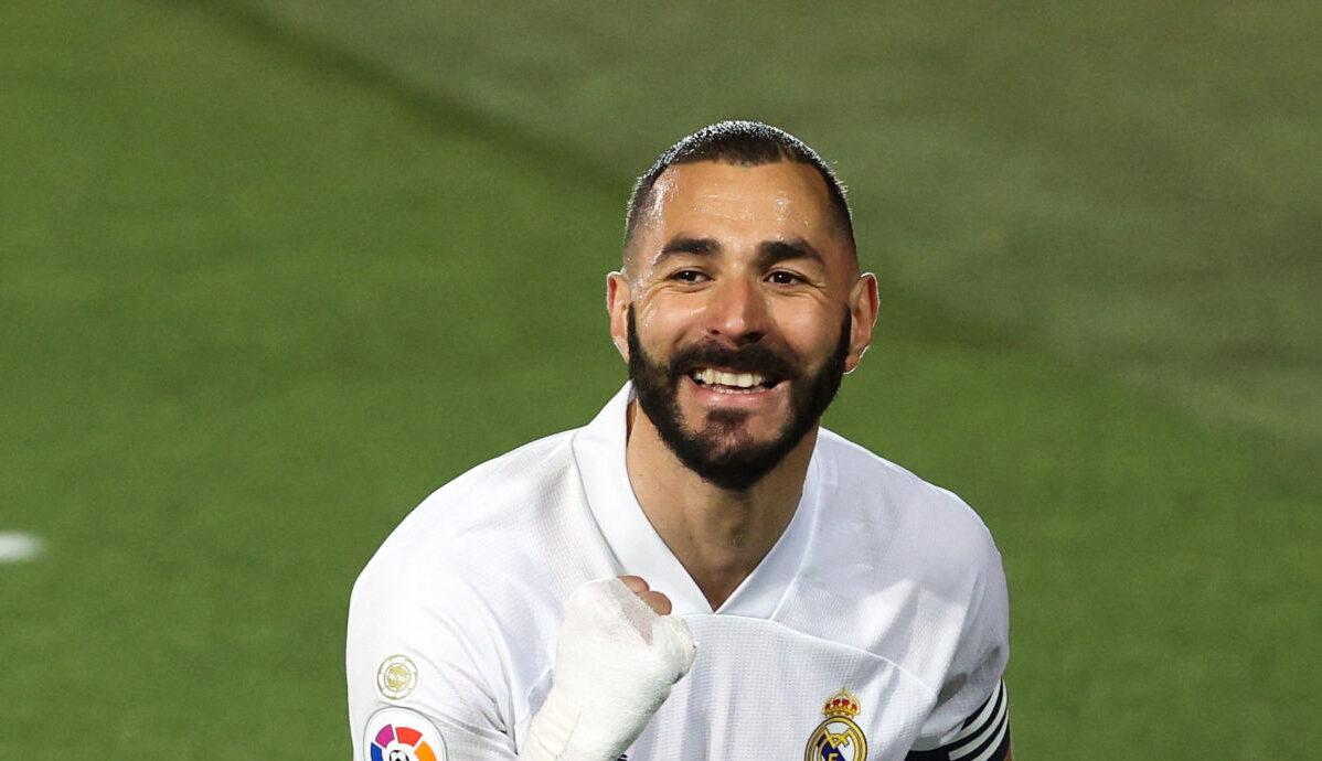 Karim Benzema. Icon Sport