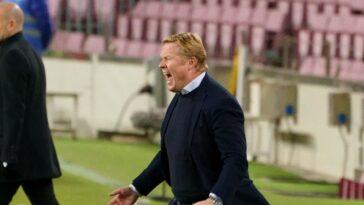 Ronald Koeman, l'entraîneur du Barça. Icon Sport