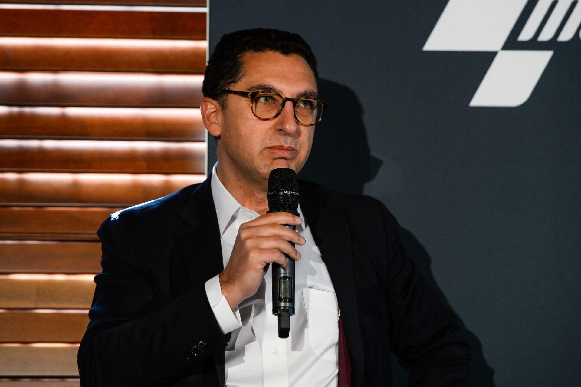 Maxime Saada, le patron de Canal+, va probablement devoir payer et diffuser le lot 3 de la Ligue 1 pendant la saison 2021/2022. Icon Sport