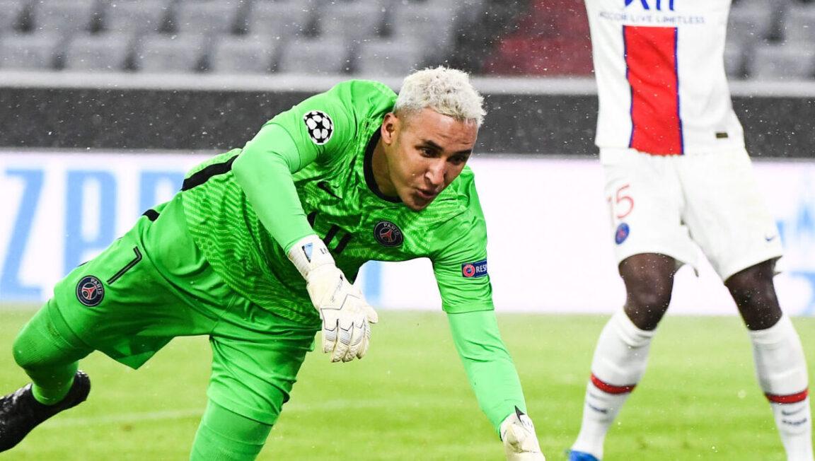 Keylor Navas, le sauveur du PSG. Icon Sport