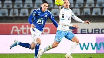 L'OM et Strasbourg s'affronteront ce vendredi soir lors de la 35ème journée Ligue 1 (iconsport)