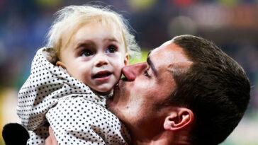 Antoine Griezmann est devenu père pour la troisième fois. Icon Sport