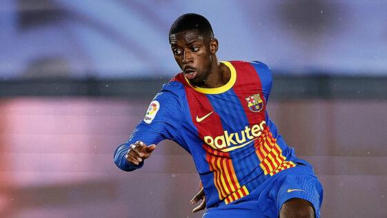 Ousmane Dembélé. Icon Sport