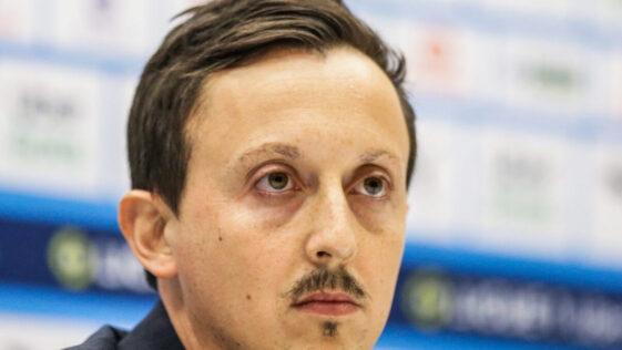 Pablo Longoria, le président de l'Olympique de Marseille. Icon Sport