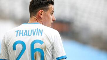 Florian Thauvin pourrait rester à l'OM