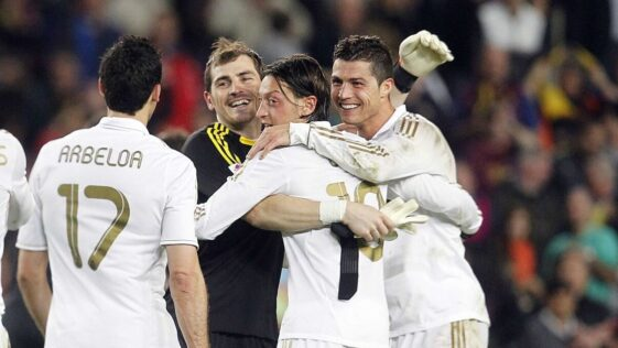Le Real Madrid de Cristiano Ronaldo, Iker Casillas, Mesut Özil et Arbelao avaient vaincu le Barça de Lionel Messi (1-2) en 2012. Icon Sport
