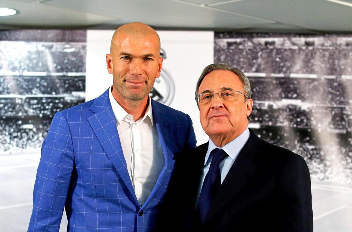 Zinédine Zidane pourrait prochainement prolonger son contrat (iconsport)