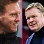Julian Nagelsmann va-t-il remplacer Ronald Koeman sur le banc du Barça ? Icon Sport