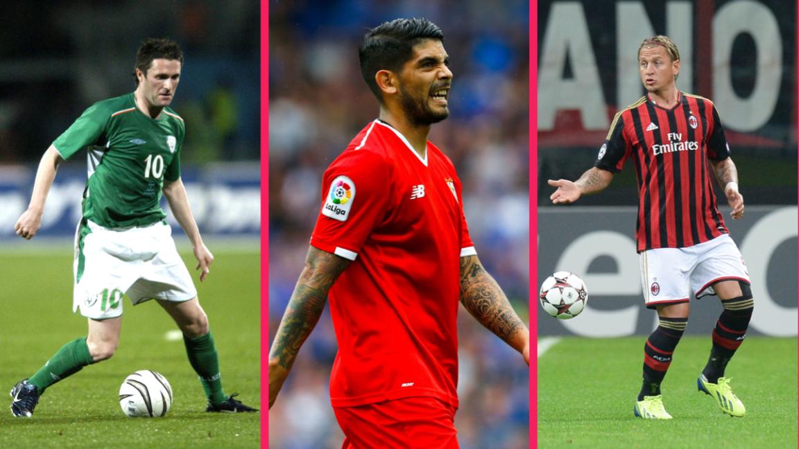 Robbie Keane, Ever Banega et Philippe Ménès occupent une place de choix dans ce classement improbable. Icon Sport