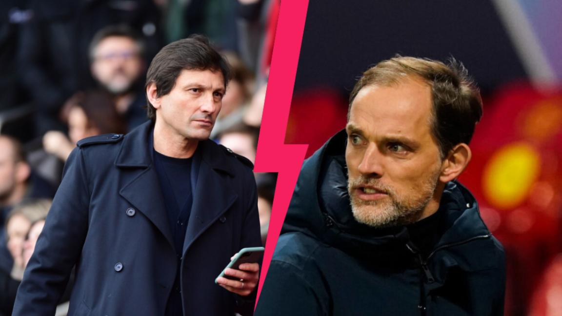 Leonardo et Thomas Tuchel, le point de non-retour après une longue inimitié au PSG. Icon Sport