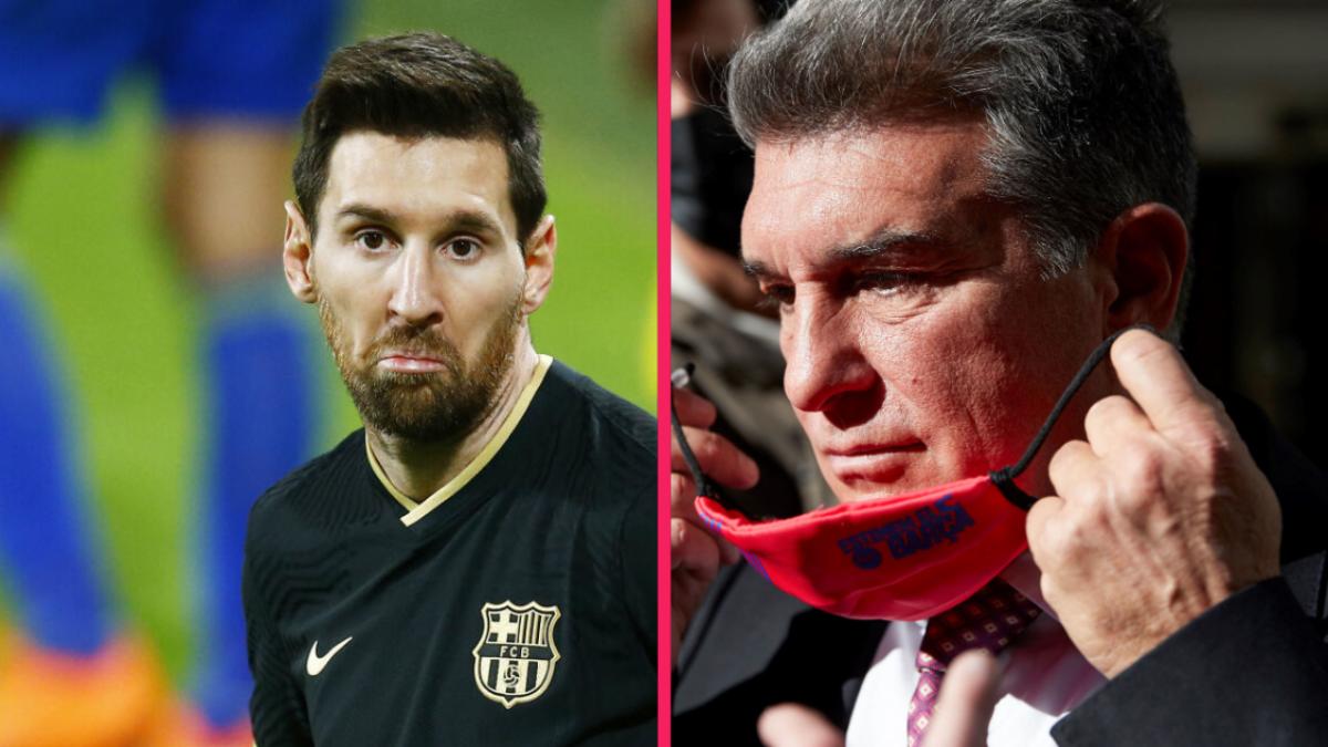 Lionel Messi met Joan Laporta dans une situation intenable... Icon Sport