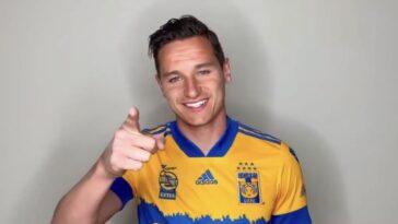 Florian Thauvin est un nouveau joueur des Tigres, au Mexique ! Icon Sport